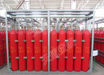 High Pressure Carbon Dioixde Fire Extinguisher