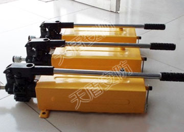 Light Weight Hydraulic Manual Pump
