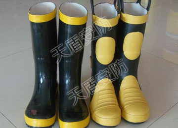 Safety Fire Fighting Shoes