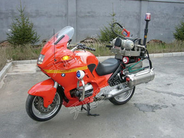 Fire fighting motorcycles rescue equipment