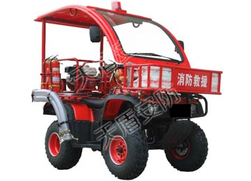 ATV250 All Terrain Fire Fighting Motorcycle