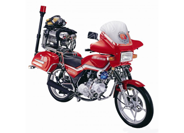 TR250 Fire-Fighting Motorcycle