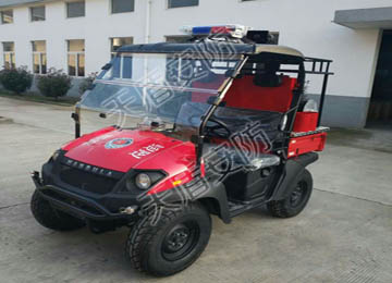 CUV All Terrain Multi Function Fire Fighting Motorcycle