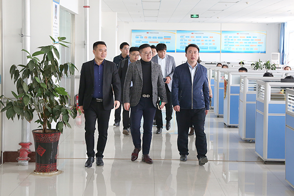 Warmly Welcome The Huawei Leaders To Visit The Shandong Tiandun