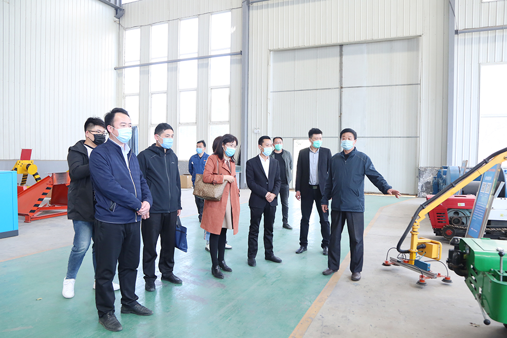 Warm Welcome Shandong Province Standardization Research Institute Leaders And His Party Visited Shandong Tiandun
